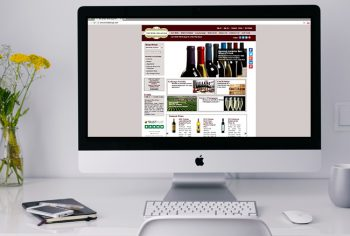 The Wine Cellarage ecommerce development Portfolio