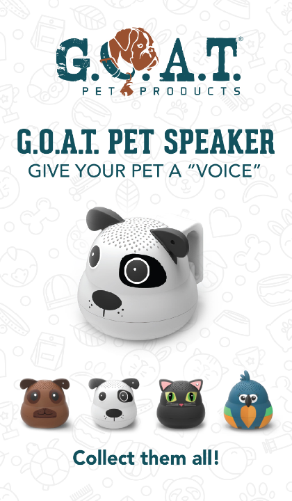 G.O.A.T. Pet Speaker Products | One Team