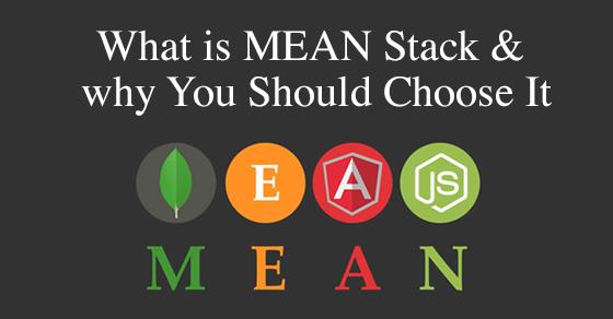 MEAN Stack For Web Application Frameworks