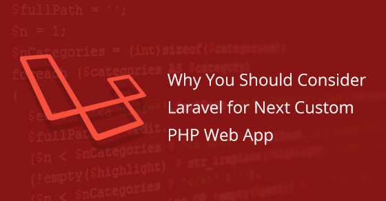 Laravel For Next Custom PHP Web App